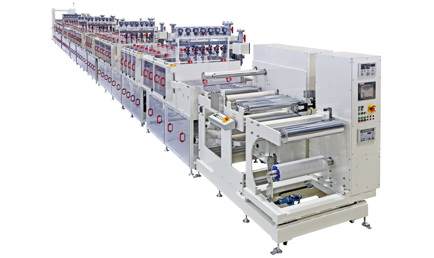Touch panel manufacturing equipment